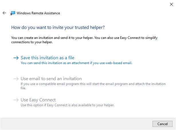 3 methods to invite trusted helper