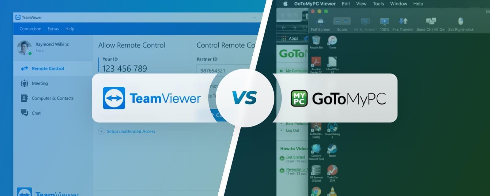 Teamviewer vs GoToMyPC