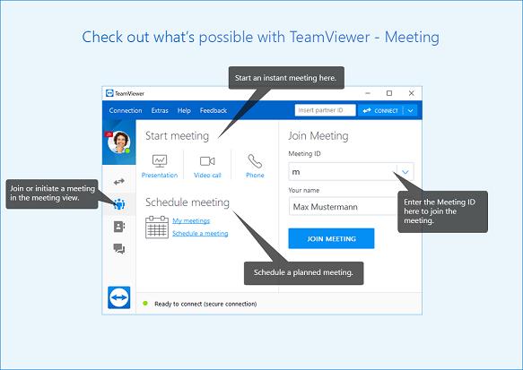 Teamviewer Meeting