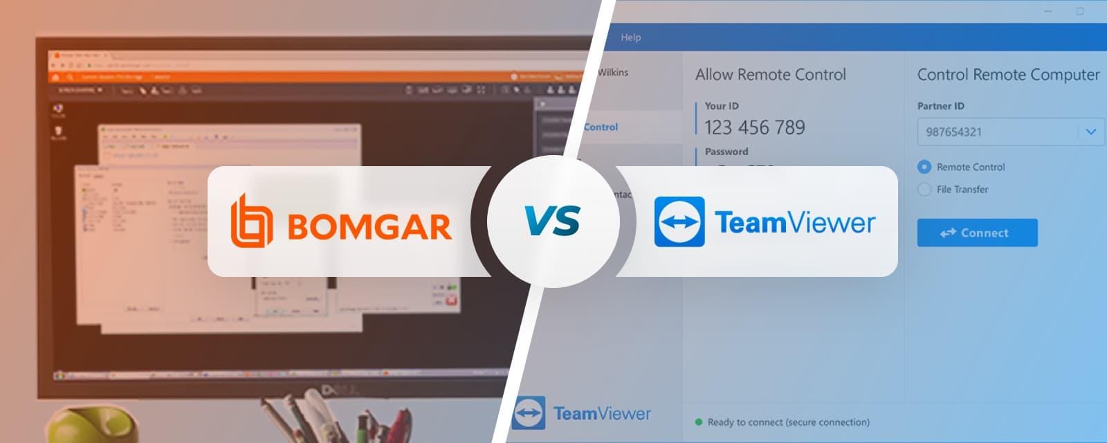 Bomgar vs TeamViewer